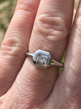 Load image into Gallery viewer, .51ct Emerald Cut Diamond Ring