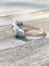Load image into Gallery viewer, 2.44ctw Antique Diamond 5 Stone Ring