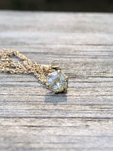 Load image into Gallery viewer, .37 Carat Old Mine Cut Diamond Solitaire Necklace