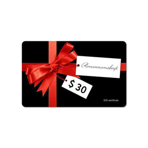 Gift Card $30 USD
