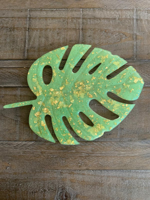 Monstera Leaf Coasters