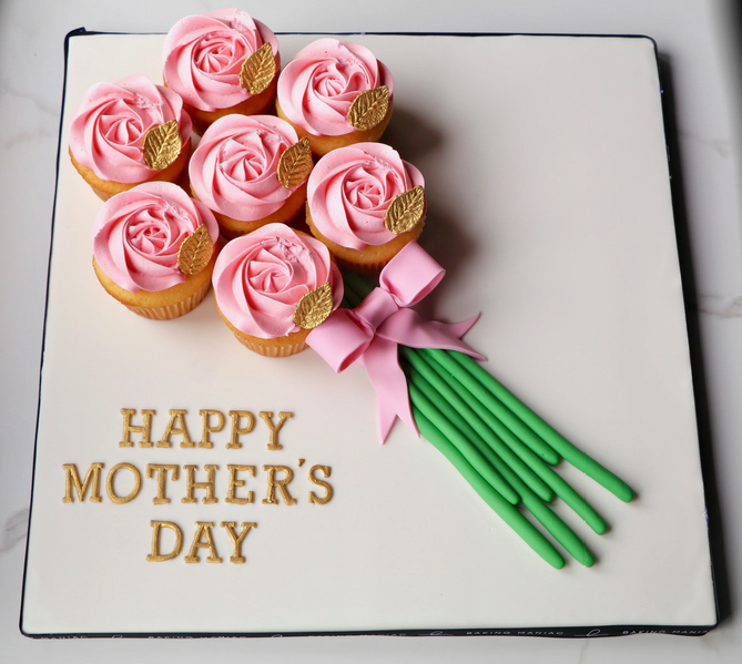 4 Thoughtful & Personalized Mother's Day Themed Cakes