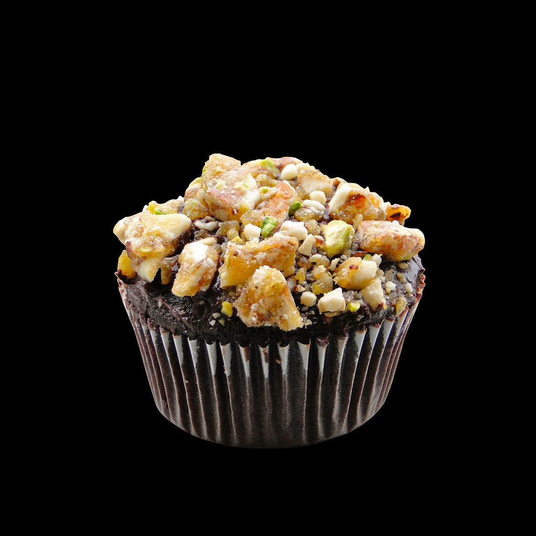 Nut Crunch Cupcakes