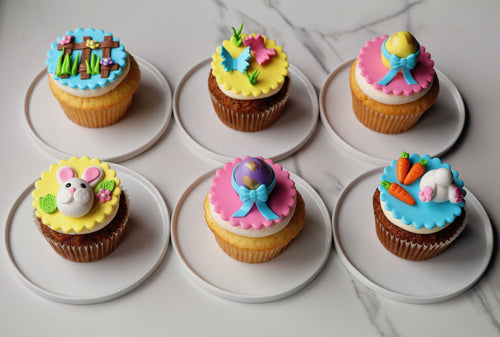 Easter Themed Cupcakes Gift Box