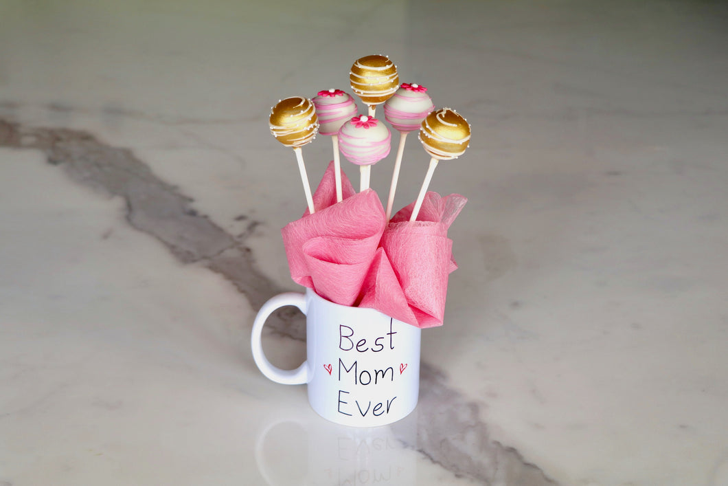 Best Mom Ever Cake Pops