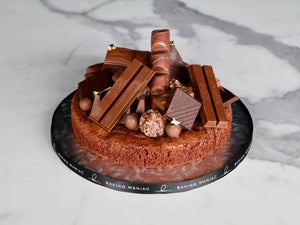 Chocoholic Brownie Cake