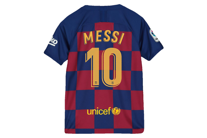 Messi - Barcelona Home Jersey 2019/20 - My Football Store