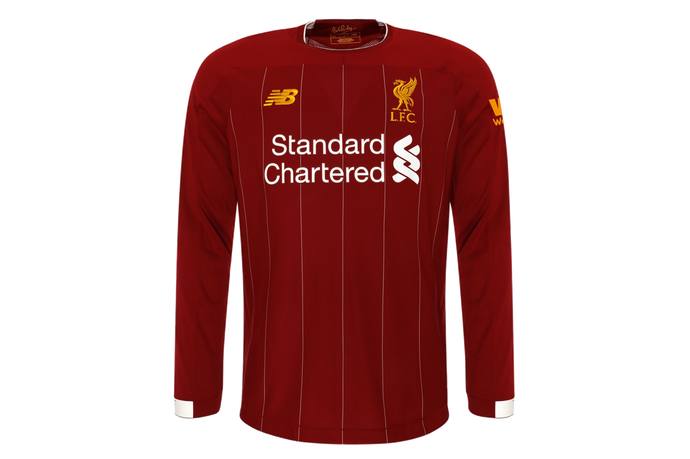 Liverpool (Full Sleeve) Home Jersey 2019/20 - My Football Store