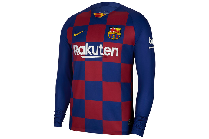 Barcelona (Full Sleeve) Home Jersey 2019/20 - My Football Store