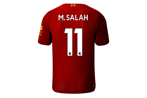 Salah - Liverpool Home Jersey 2019/20 - My Football Store