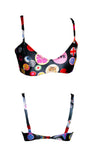 Snap To It! interchangable strap bikini top