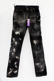 acid splatter punk pants Upcycled jeans Original Levis 505