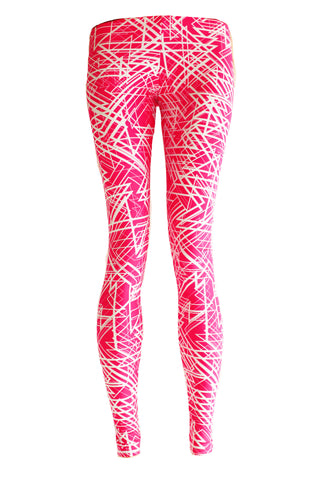 DownTown Electric Printed Leggings