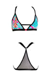 The Shachaf Strap Bralette bikini top