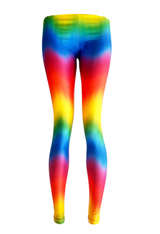 Happy Daze rainbow Printed Leggings