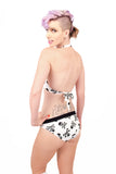 Boop - A - Doop halter neck and bow pinup bikini top