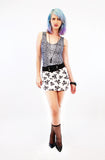 Skullified As Tight As It Gets Skull Print Mini Skirt
