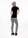 Lean And Mean Striped Skinny Pants