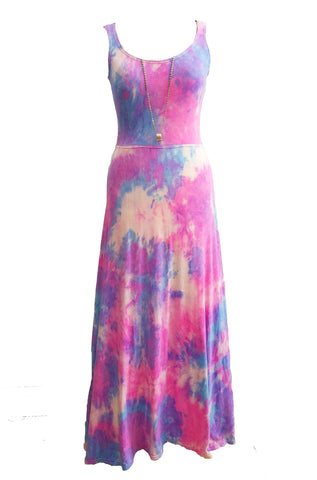 The perfect Streetwear maxi dress - In Tie Dye