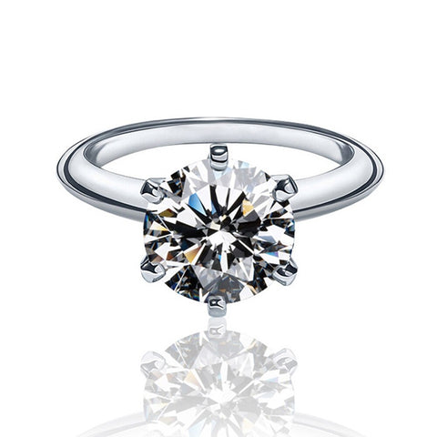 Engagement Rings for Women Men Birthday Gift