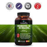 Nuwellix Probiotic Supplement for Men and Women - Supports Digestive Health and Weight Loss