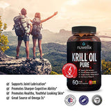 Nuwellix Krill Oil Supplement with Omega 3 EPA, DHA and Antaxanthin - High Potency