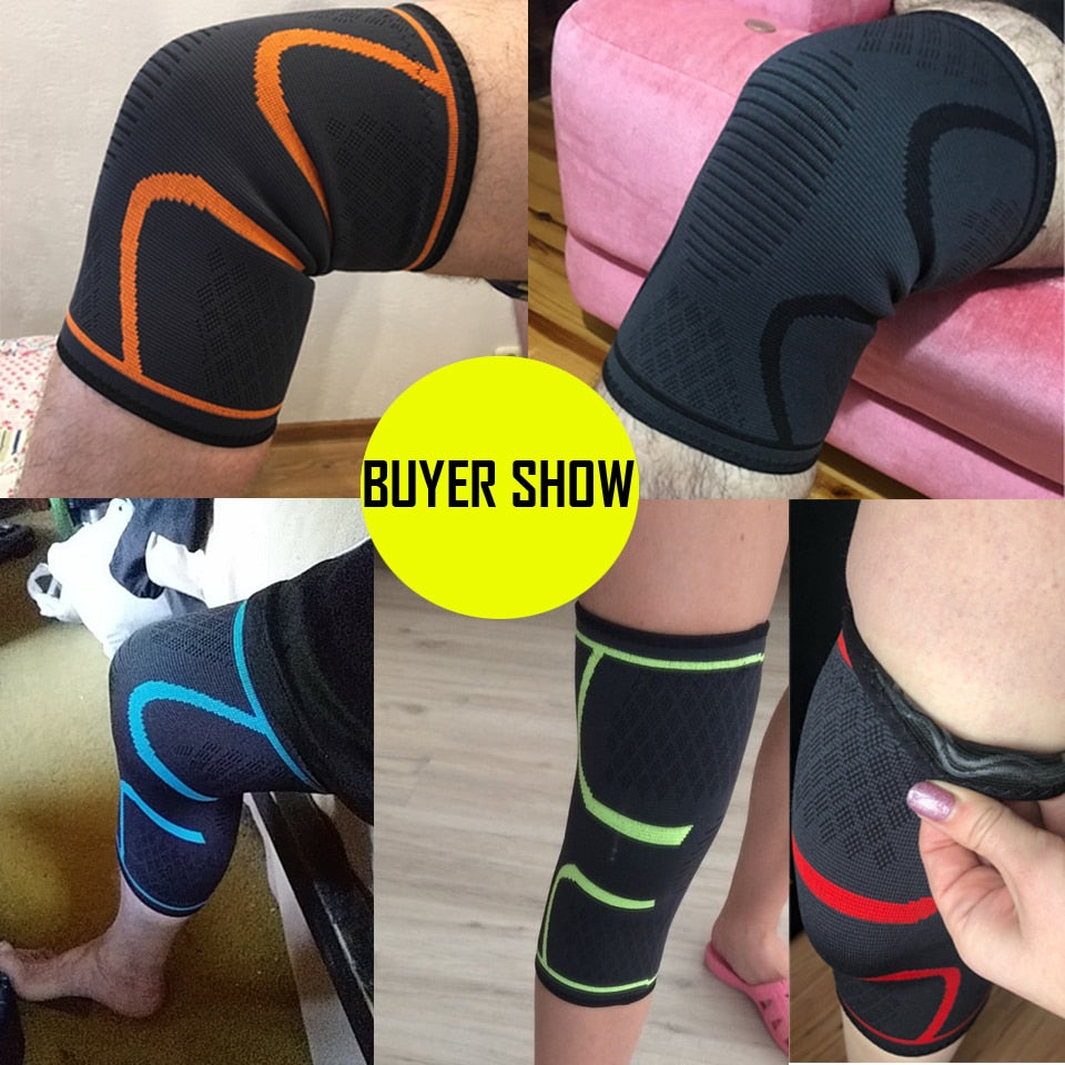 Elastic Sport Compression Knee Pad