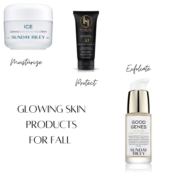 Three Products For Glowing Skin