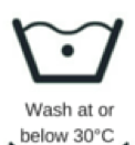 Wash Christine Headwear at 30 Degrees Celcius