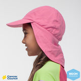 CANCER COUNCIL Kid's Legionnaire Hat (B14)