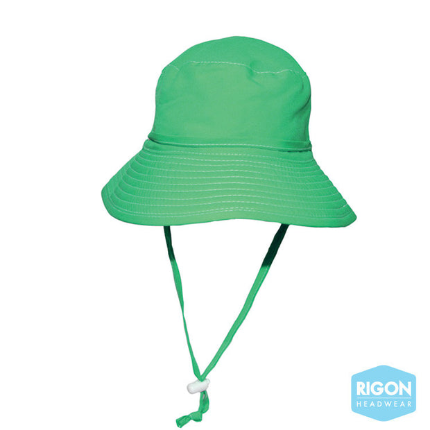 'Be Seen' Kids Fluro Beach Hat