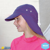 Cancer Council legionnaire kids swim hat (B75)