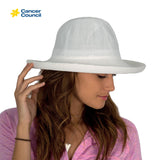 CANCER COUNCIL Classic Breton Style Ladies Hat Lined (R35L)