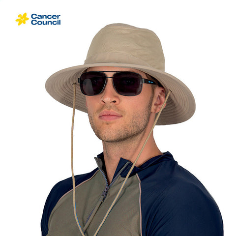 CANCER COUNCIL Cool Comfort Mens Hat (RG81)