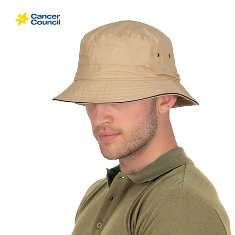 CANCER COUNCIL Jester Cotton Bucket Hat (RG84)