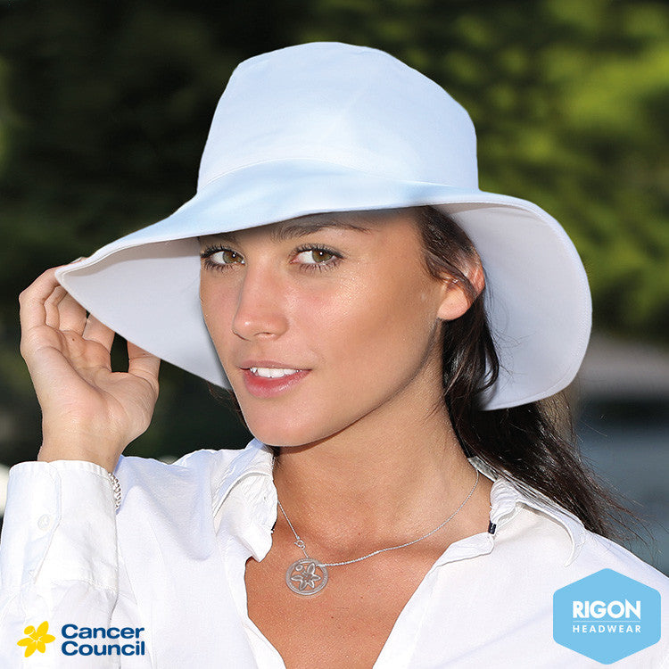 c123a111cd5 CANCER COUNCIL caribbean resort lycra broad brim hat (RL70) – Rigon ...