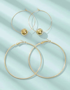 Ball Decor Hoop Set