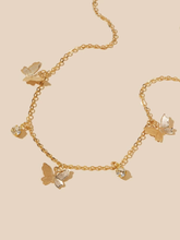 Load image into Gallery viewer, Butterfly Chain Choker