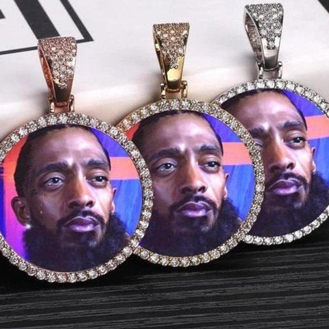Custom Photo Medallions Pendant - HYPE HOUSE CHAINS