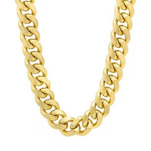 Gold Cuban - HYPE HOUSE CHAINS