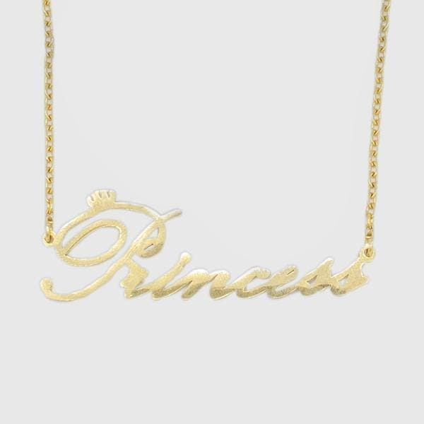 Golden Princess Necklace - HYPE HOUSE CHAINS