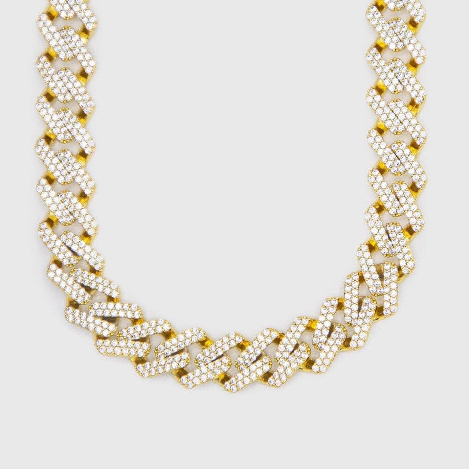 Micro Paved Rapper Choker Chain - HYPE HOUSE CHAINS