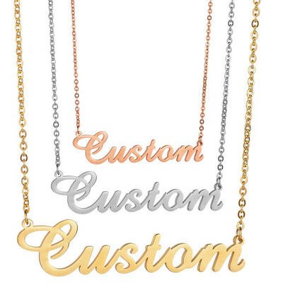Personalized Name Necklace - HYPE CHAINS