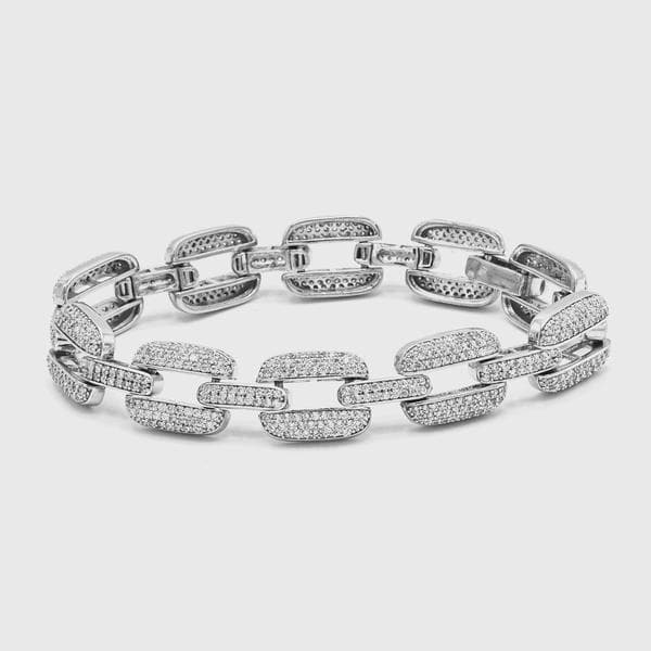 Silver Link Bracelet - HYPE HOUSE CHAINS