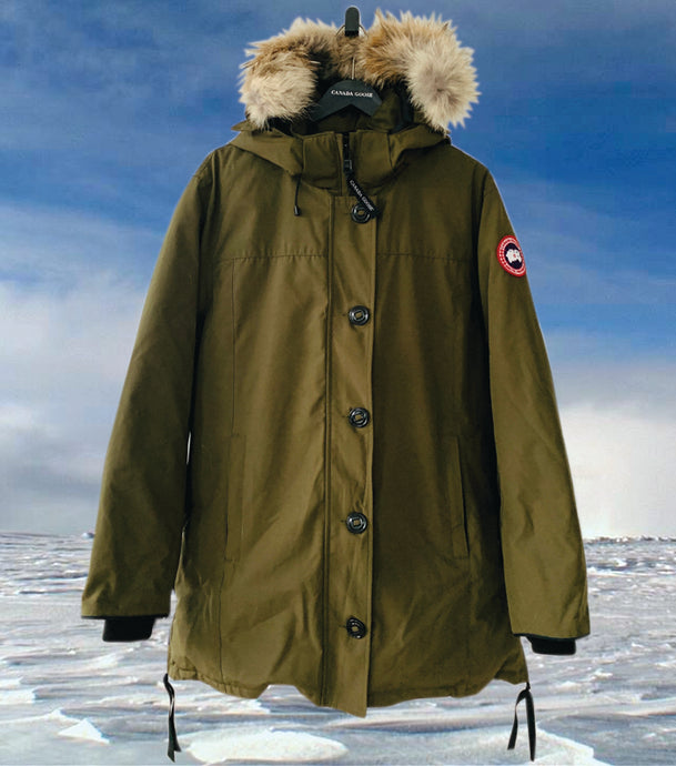 CANADA GOOSE Ladies Dawson Parka Military Green Size L
