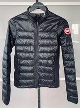 Load image into Gallery viewer, CANADA GOOSE Ladies Hybridge Lite Jacket Black Size S