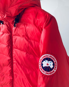 CANADA GOOSE Ladies Camp Hoody Red Size S