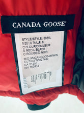 Load image into Gallery viewer, CANADA GOOSE Ladies Camp Hoody Red Size S
