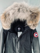 Load image into Gallery viewer, CANADA GOOSE Ladies Trillium Parka Graphite Size M