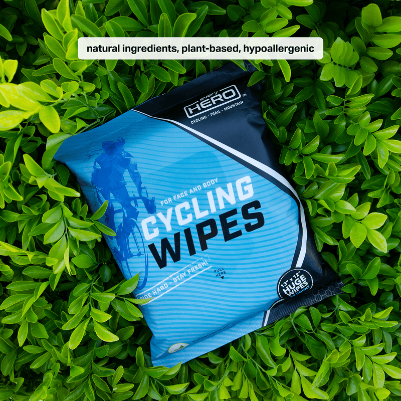 Cycling Wipes - 20CT Pack